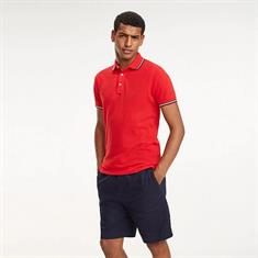 TOMMY HILFIGER TIPPED SLIM POLO