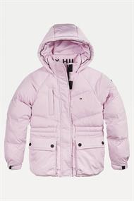 TOMMY HILFIGER WAISTED SPORTY PUFFER