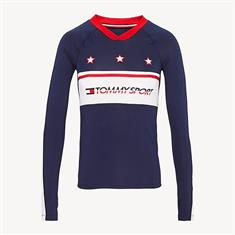 TOMMY HILLFIGER LONGSLEEVE T-SHIRT WITH STARS