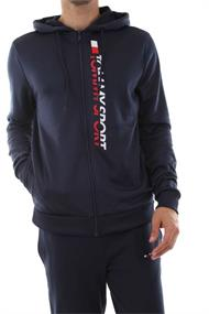 TOMMY HILLFIGER ZIP THROUGH LOGO