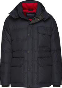 TOMMY HOODED DOWN BOMBER