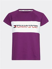 TOMMY SPORT BLOCKED TEE LOGO