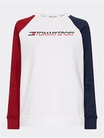 TOMMY SPORT FLEECE CREW NECK