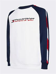 TOMMY SPORT FLEECE TAPE CREW