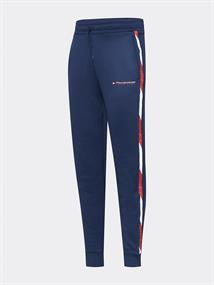 TOMMY SPORT FLEECE TRACK PANT WITH TAPE