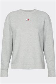 TOMMY SPORT OPEN BACK TAPE FLEECE CREW