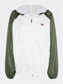 TOMMY SPORT WINDBREAKER LINED WITH BACK LOGO
