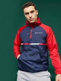 TOMMY SPORT WOVEN JACKET WITH TAPE