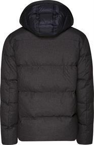 TOMMY STRUCTURE NYLON DOWN BOMBER