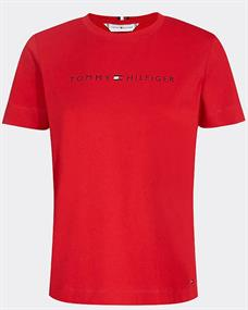TOMMY TH ESS HILFIGER CREW NECK TEE SS