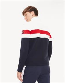 TOMMY X ROSSIGNOL COLOUR BLOCK FULL ZIP