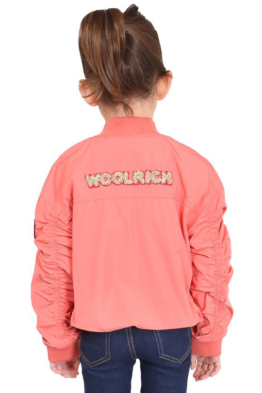 WOOLRICH G'S EMBROIDERY OVER BOMBER
