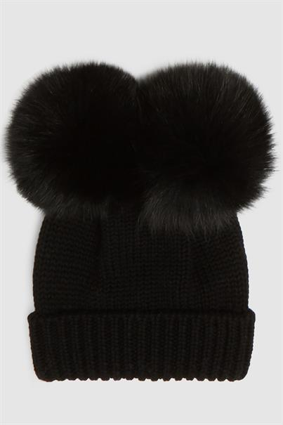 WOOLRICH G'S SERENITY DOUBLE POMPOM HAT