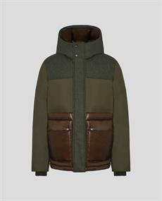 WOOLRICH INTARSIA MOUNTAIN JACKET