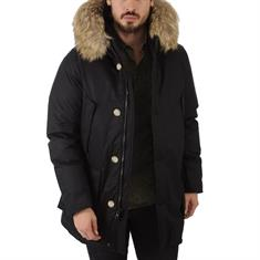WOOLRICH LAMINATED COTTON PARKA