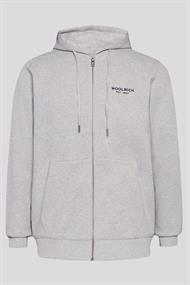 WOOLRICH LUXURY LIGHT FZ HOODIE