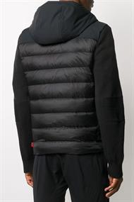 WOOLRICH TECH KNIT HOODED JACKET