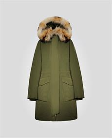 WOOLRICH W'S MILITARY PARKA FR